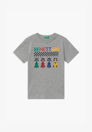 BASIC BOY - Print T-shirt - grey