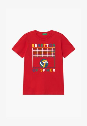 BASIC BOY - T-shirt con stampa - red