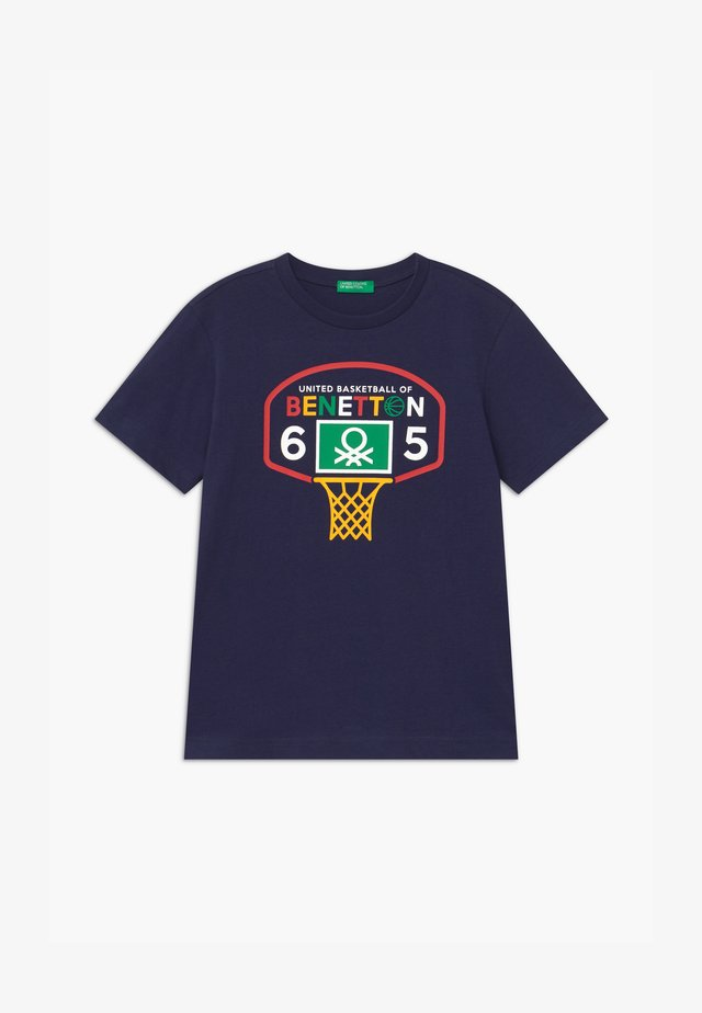 BASIC BOY - T-shirt z nadrukiem - dark blue