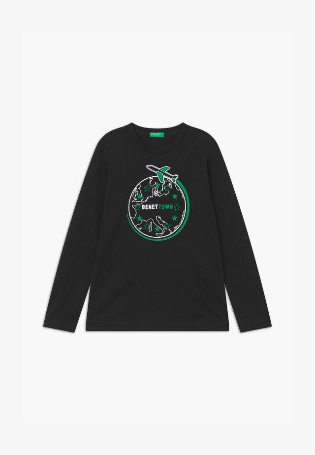 FUNZIONE BOY - Pitkähihainen paita - black