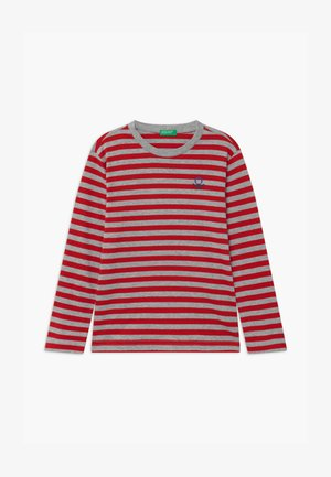 FUNZIONE BOY - Longsleeve - red/grey