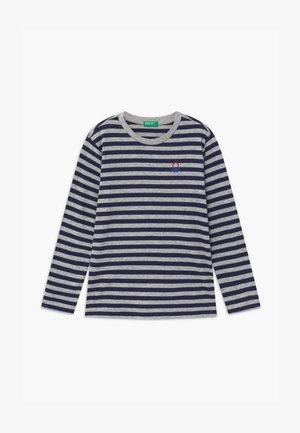 FUNZIONE BOY - Bluzka z długim rękawem - dark blue/grey