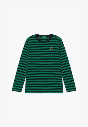 FUNZIONE BOY - Long sleeved top - green/black