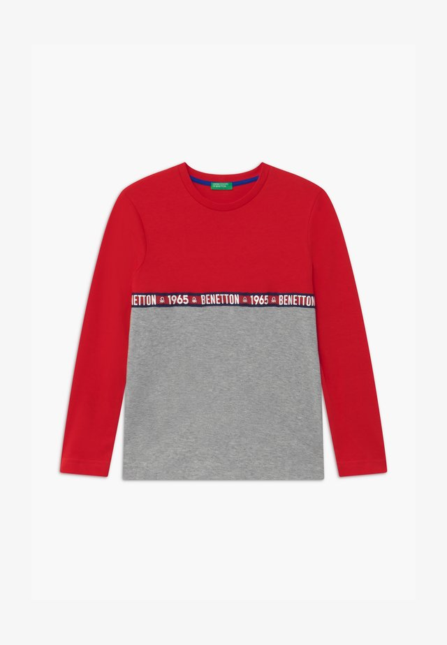 BASIC BOY - Langarmshirt - red/grey