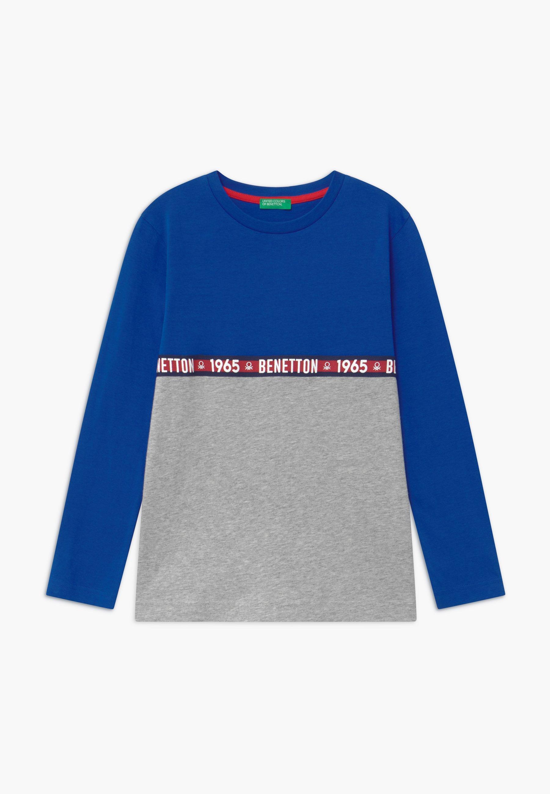 BASIC BOY Långärmad tröja bluegrey