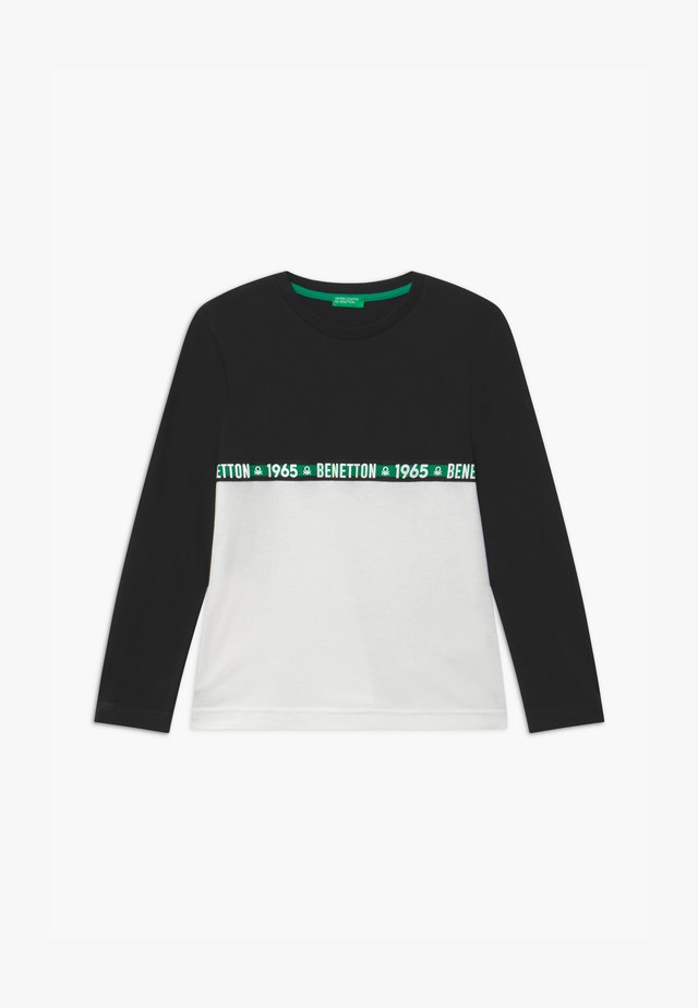 BASIC BOY - Pitkähihainen paita - black/white