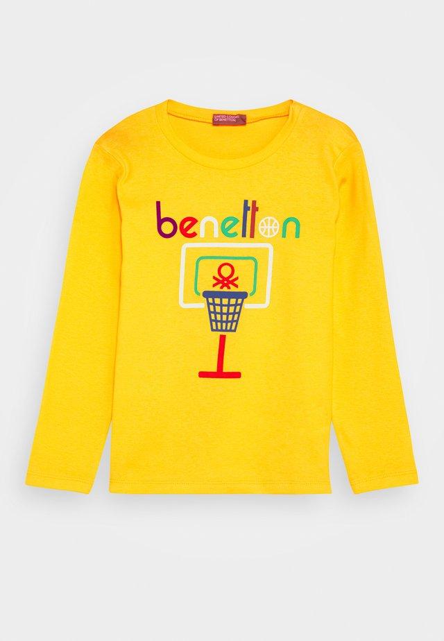 Camiseta de manga larga - yellow