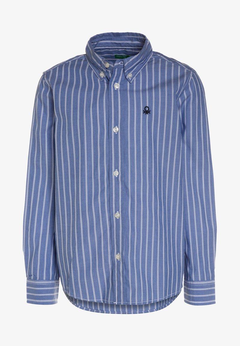 Benetton - Camisa - blue