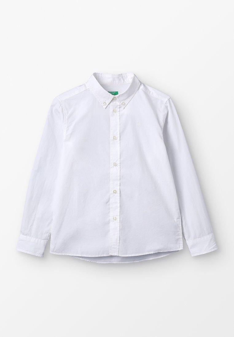 Benetton - BASIC - Hemd - white