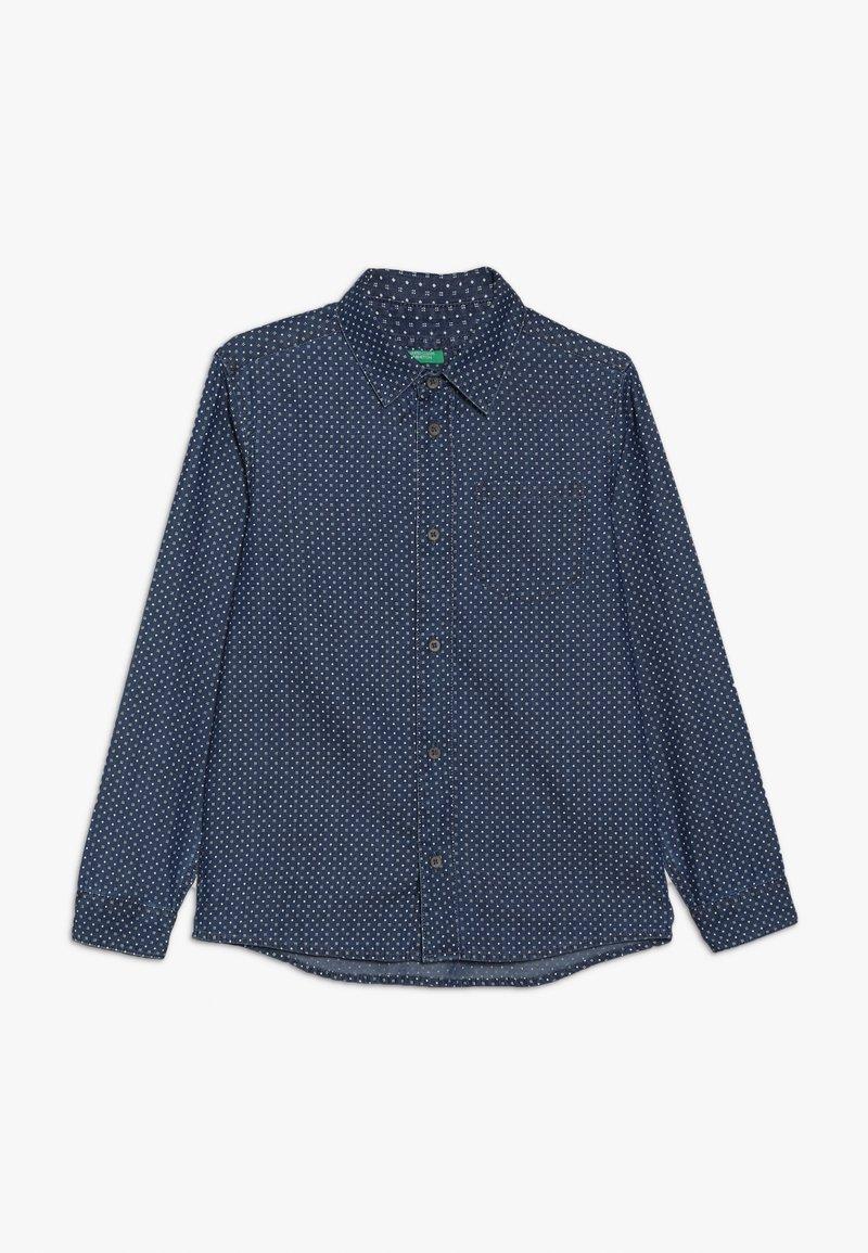 Benetton - Shirt - light blue