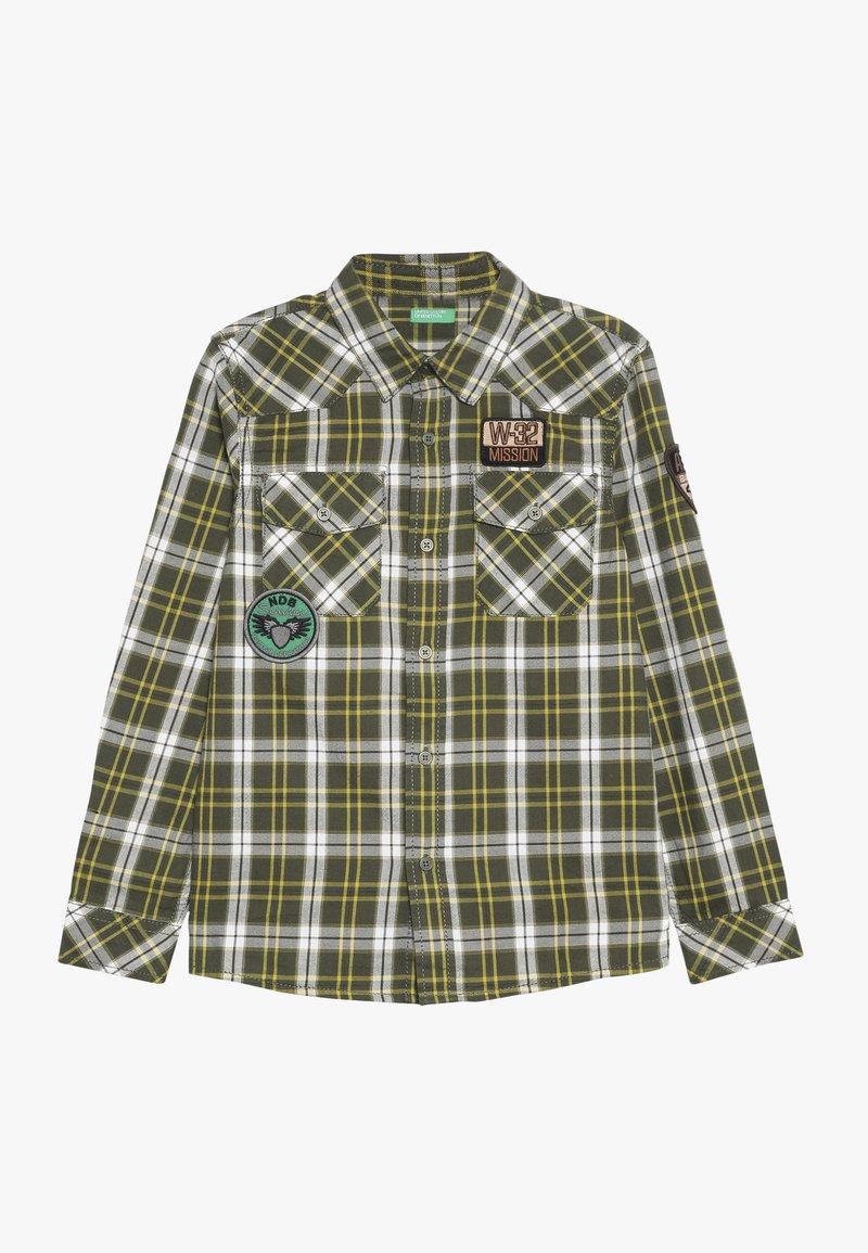 Benetton - Košile - khaki