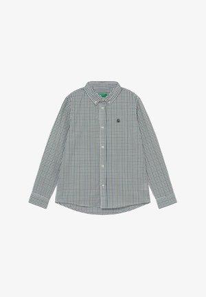 Overhemd - white/green/blue