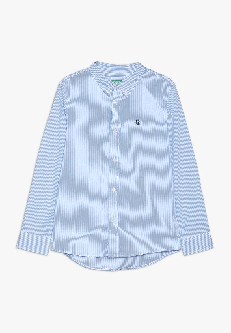 Benetton - Camisa - light blue