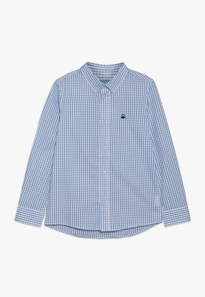 Benetton - Shirt - light blue/blue