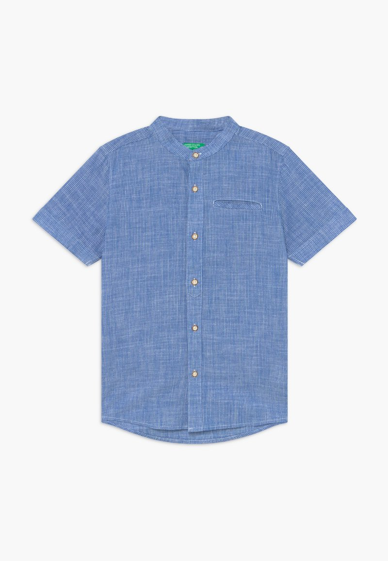 Benetton - Camisa - white/blue