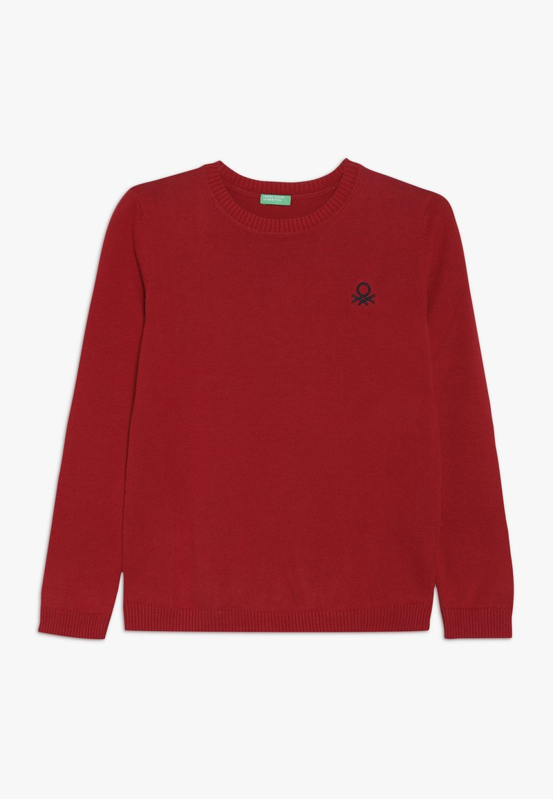 Benetton - BOY  - Jumper - red