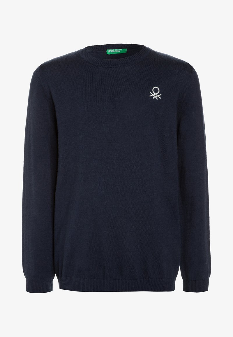 Benetton - BOY  - Sweter - dark blue