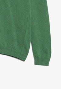 Benetton - V NECK  - Sweter - green - 3
