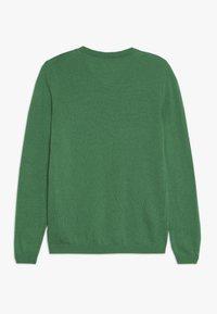 Benetton - V NECK  - Sweter - green - 1