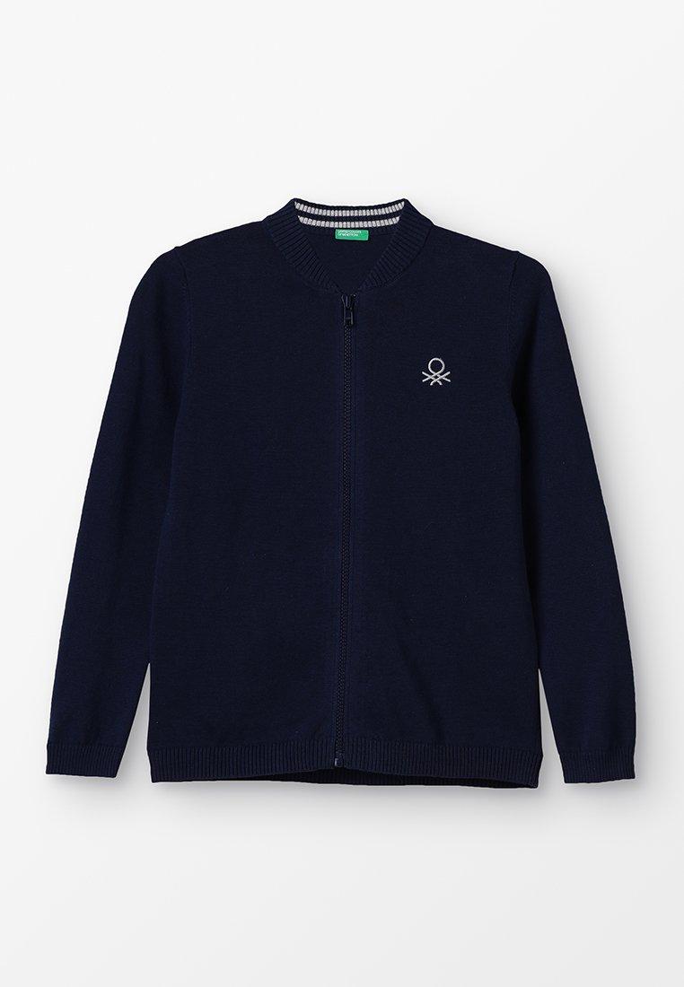 Benetton - BASIC - Vest - dark blue