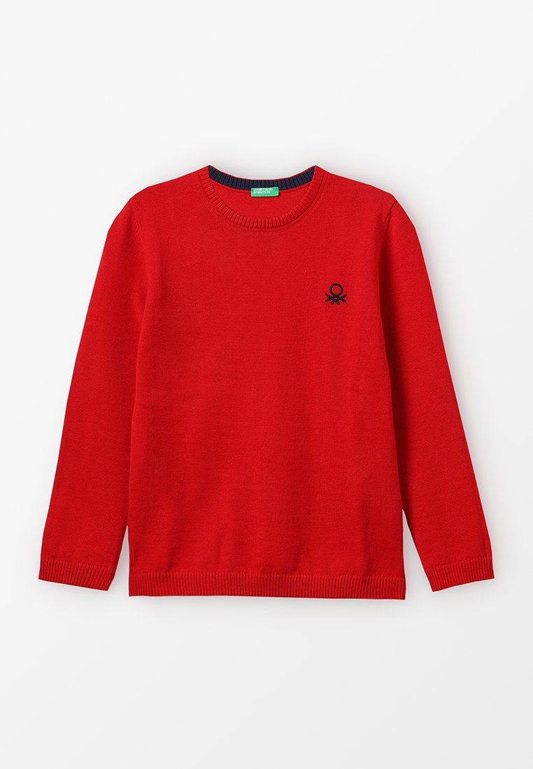 Benetton - BASIC - Maglione - red