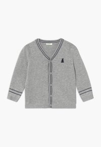 Benetton - Cardigan - mottled grey - 0