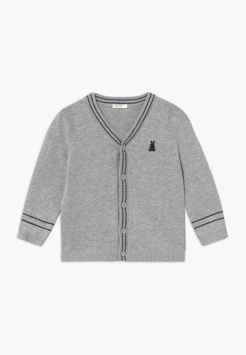 Benetton - Cardigan - mottled grey