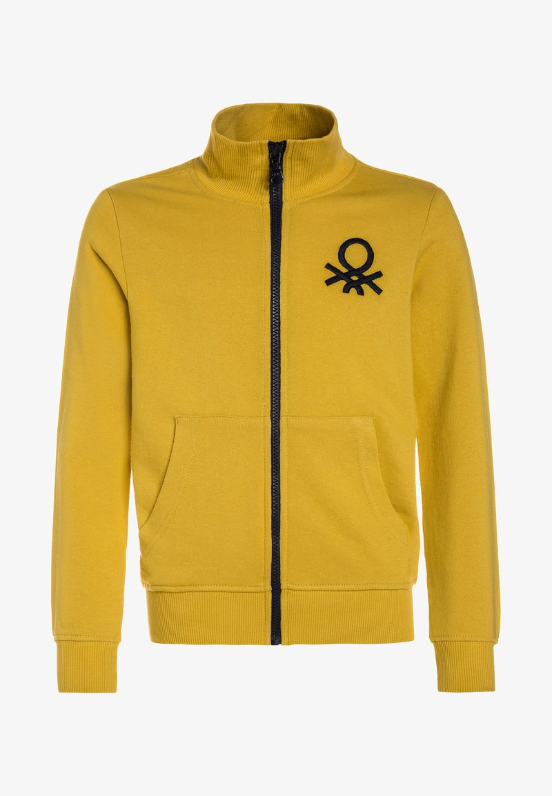 Benetton - Zip-up hoodie - yellow