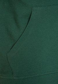 Benetton - Zip-up hoodie - dark green - 2