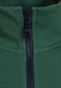 Benetton - Zip-up hoodie - dark green - 3
