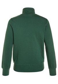 Benetton - Zip-up hoodie - dark green - 1