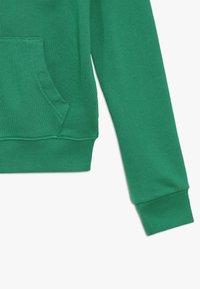 Benetton - JACKET HOOD - Huvtröja med dragkedja - green - 2