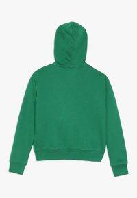 Benetton - JACKET HOOD - Huvtröja med dragkedja - green - 1