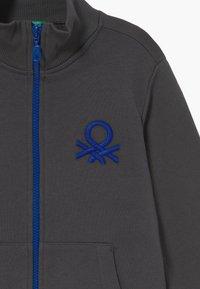 Benetton - Zip-up hoodie - grey - 3