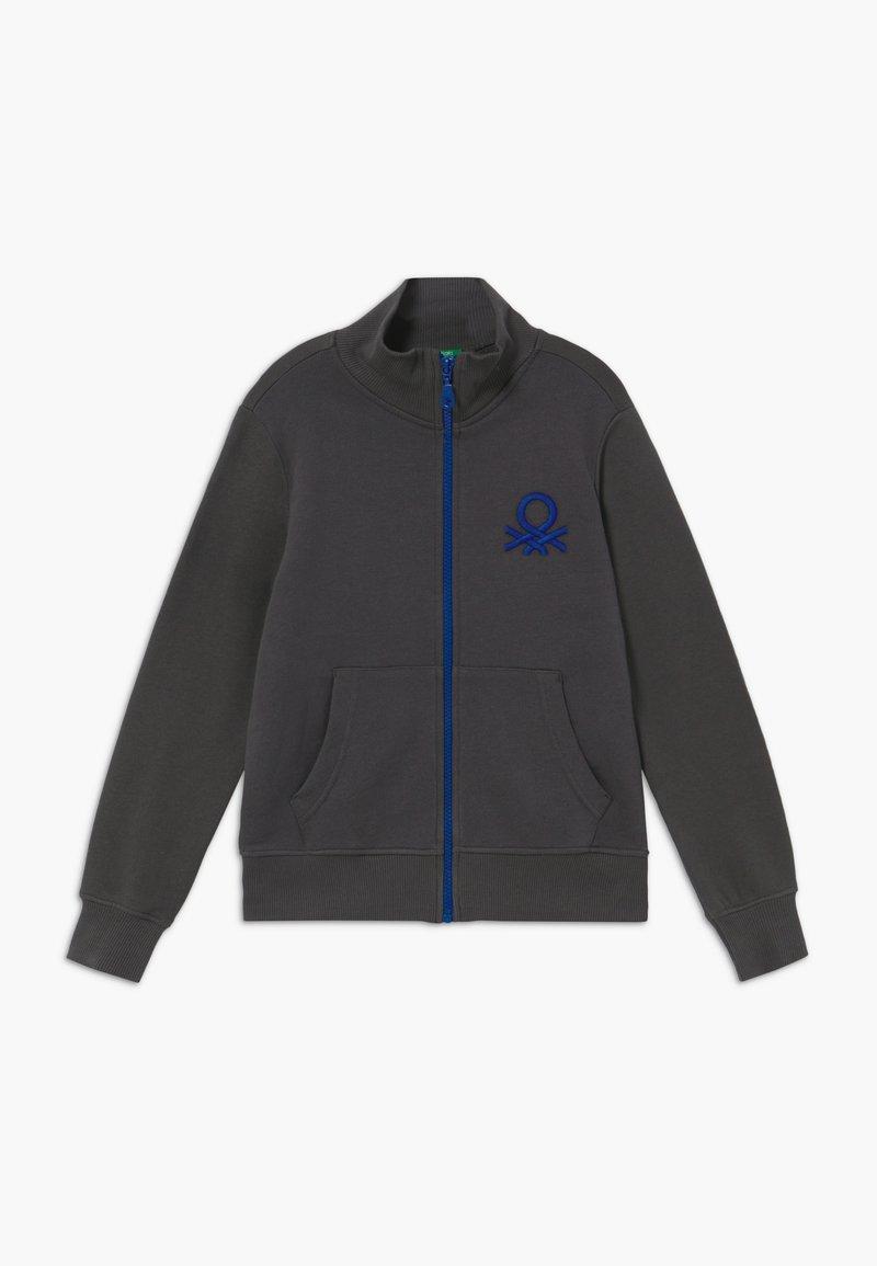 Benetton - Zip-up hoodie - grey