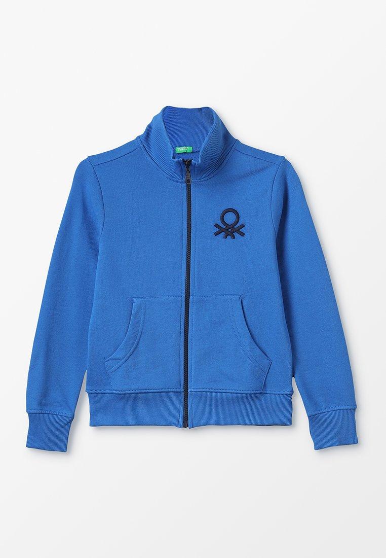 Benetton - Zip-up hoodie - blau