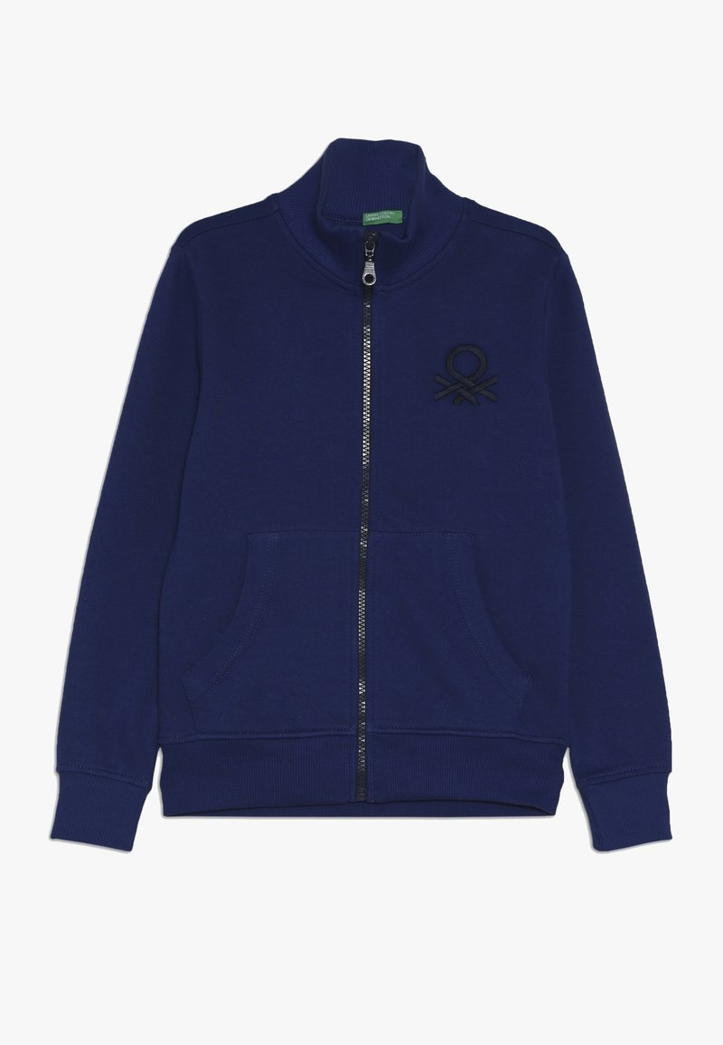 Benetton - Zip-up hoodie - dark blue