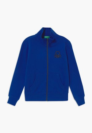 Bluza rozpinana - blue