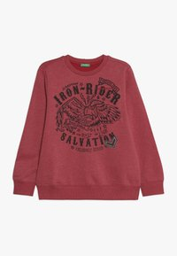 Benetton - SWEATER - Mikina - red - 0