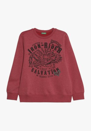SWEATER - Sweatshirt - red