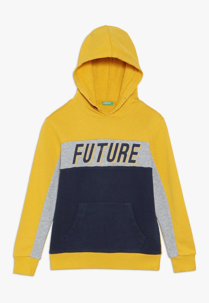 Benetton - Hoodie - yellow