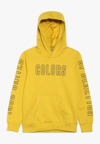 Benetton - SWEATER HOOD - Kapuzenpullover - yellow - 0