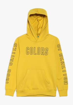 SWEATER HOOD - Jersey con capucha - yellow