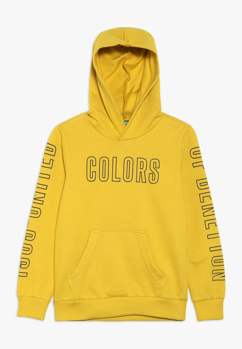 Benetton - SWEATER HOOD - Kapuzenpullover - yellow