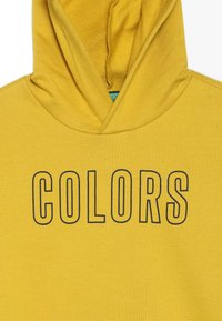 Benetton - SWEATER HOOD - Kapuzenpullover - yellow - 4