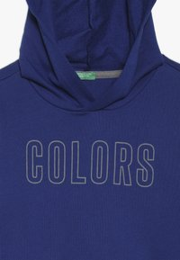 Benetton - SWEATER HOOD - Felpa con cappuccio - blue - 4