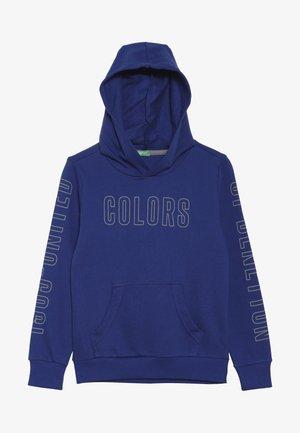 SWEATER HOOD - Hættetrøjer - blue