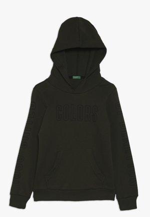 SWEATER HOOD - Bluza z kapturem - khaki