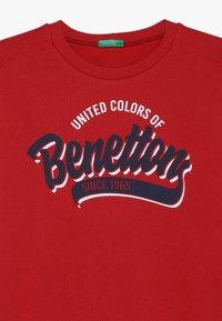 Benetton - Bluza - dark red - 4