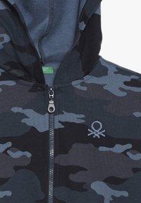 Benetton - JACKET HOOD - Sweatjakke /Træningstrøjer - dark blue - 4